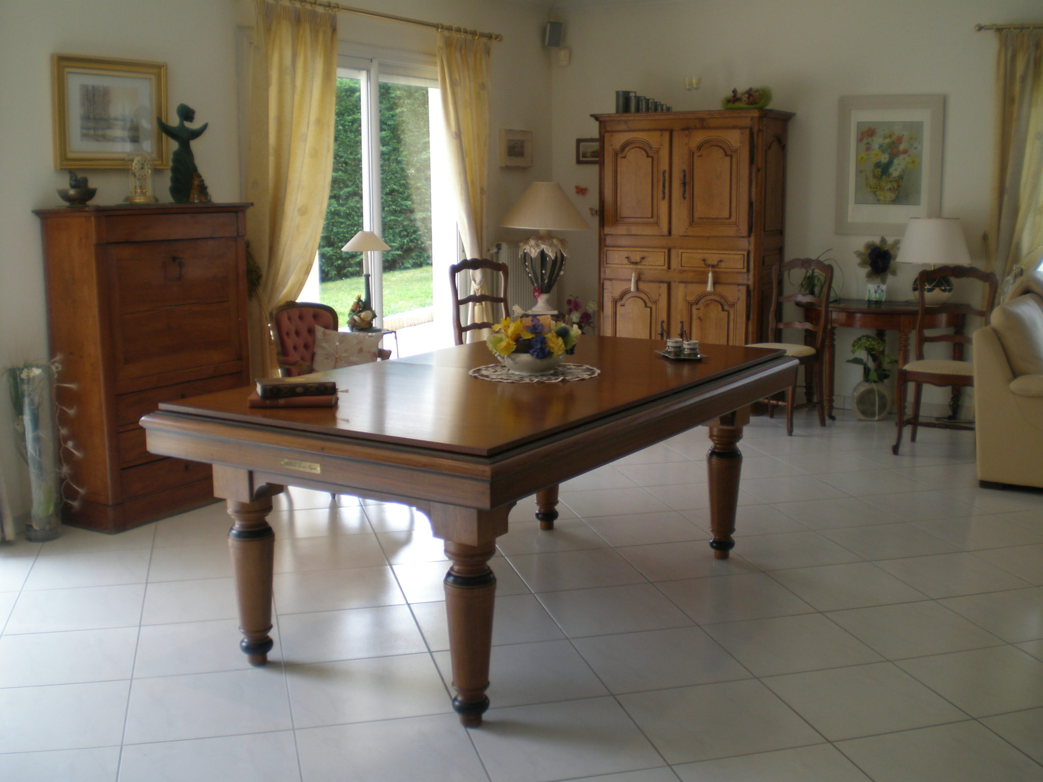 « Billard Table Luxe » Gamme Prestige RIVET