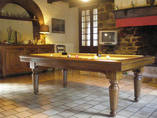 Billard Table Luxe