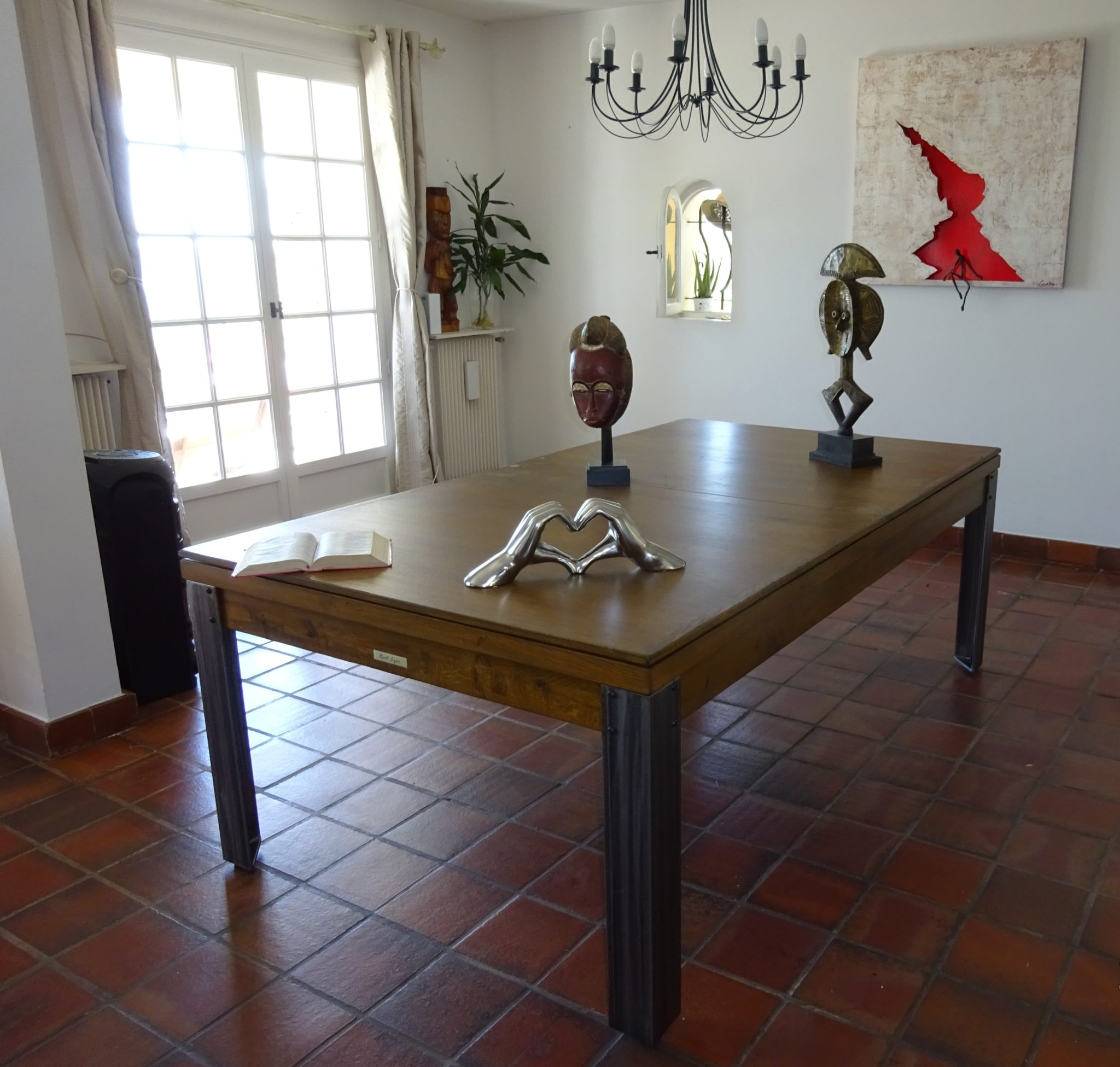 DIECO industrie vieilli, table